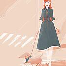 Hund Gehen von gingerish