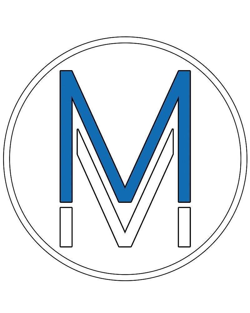 MM Circle Logo by MagikMike
