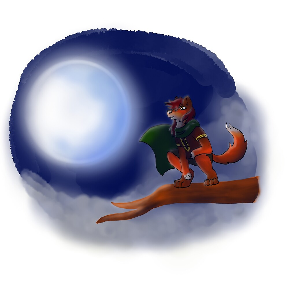 Adventurer Fox by TheBrushFox