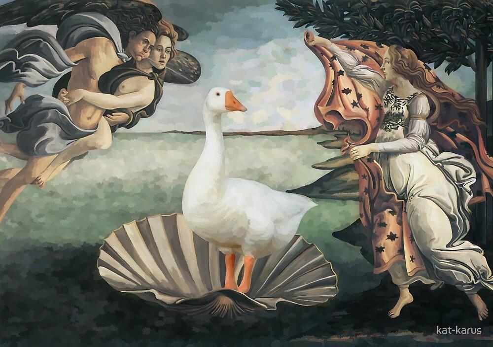 Birth of Goose by kat-karus