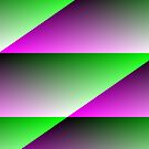 Purple Green Abstract 6 by Gypsykiss