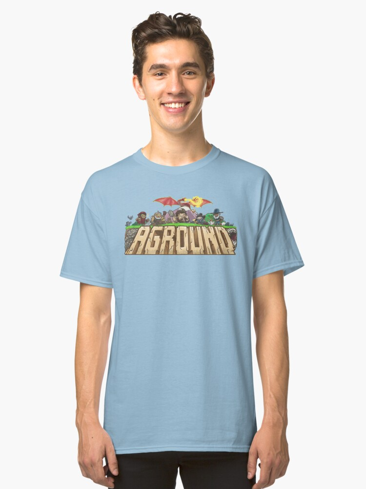 Aground T-Shirt Classic T-Shirt Front