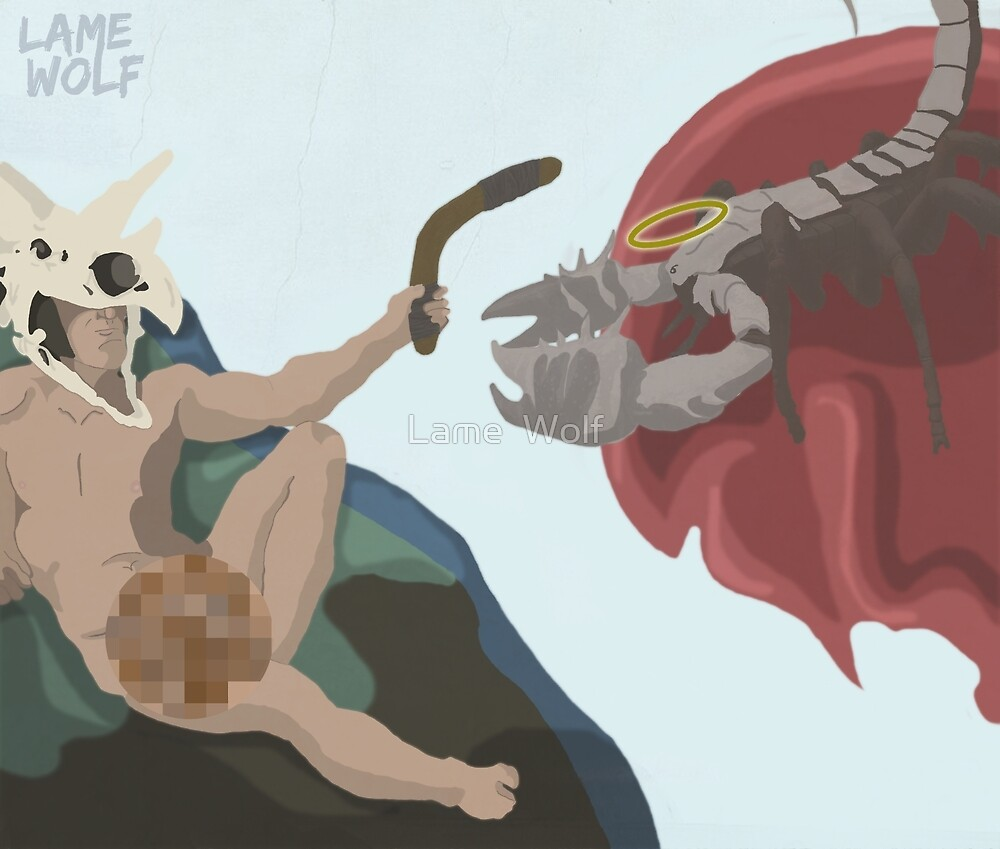 The Creation of Boomerang Man by Lame  Wolf