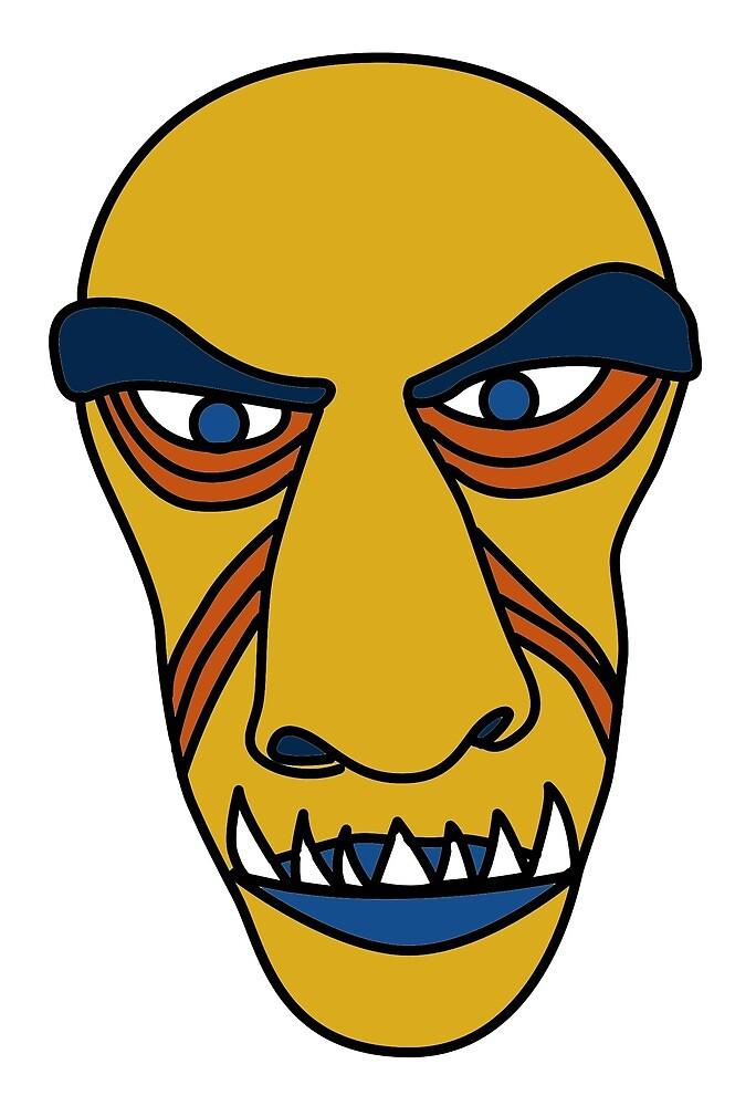 Mask 1 by Tomás Antunes