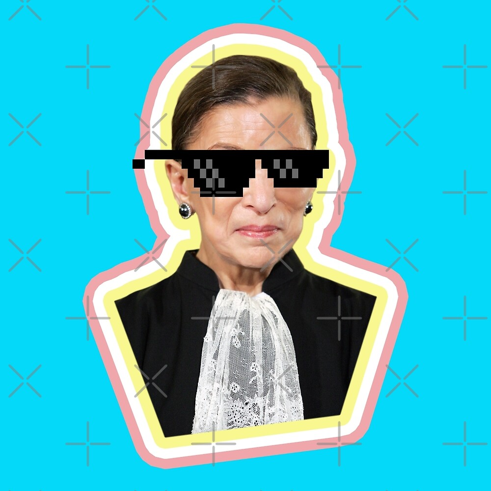 "The Notorious RBG Says ""Deal With It"" by xanaduriffic"