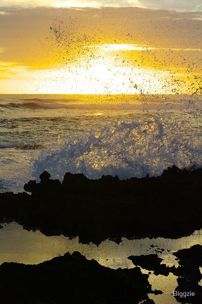 Sunset Splash by Biggzie