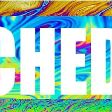"""PSYCHEDELIC """"supreme' logo by BeatleyDraws"""