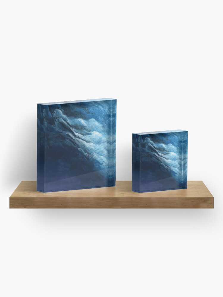 Alternate view of Children's book Cloud Woman print Acrylic Block