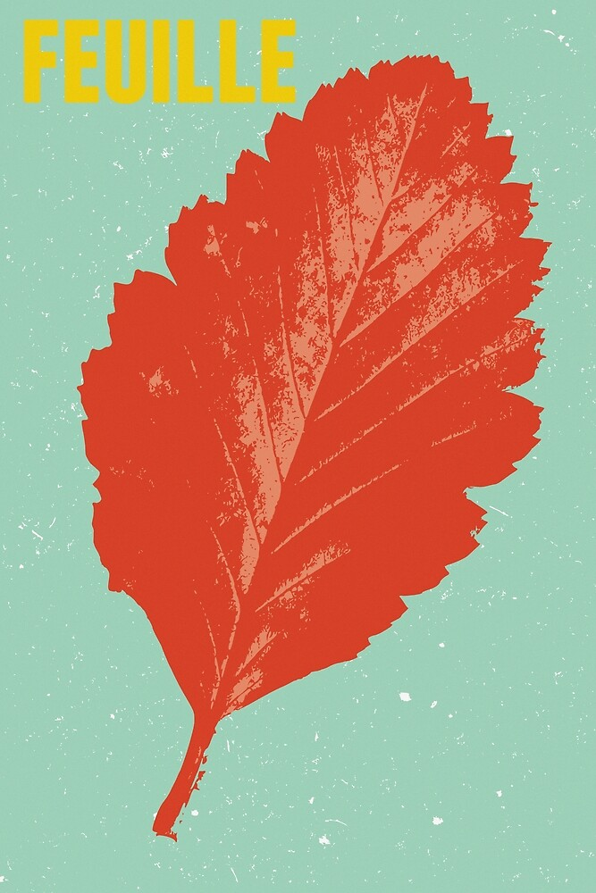 La Feuille, The Leaf by Thomas Terceira