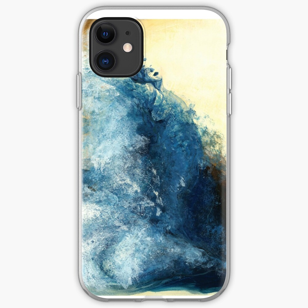 Children's book Wave Woman print iPhone Case & Cover