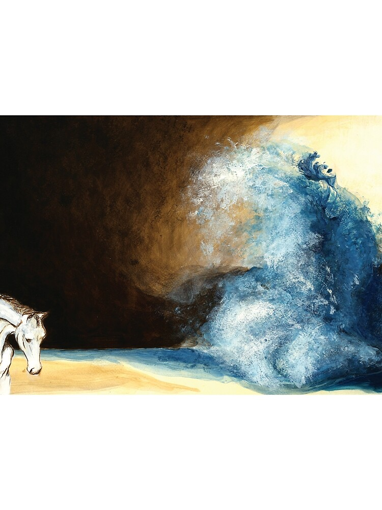 Children's book Wave Woman print by CatarinaGarcia