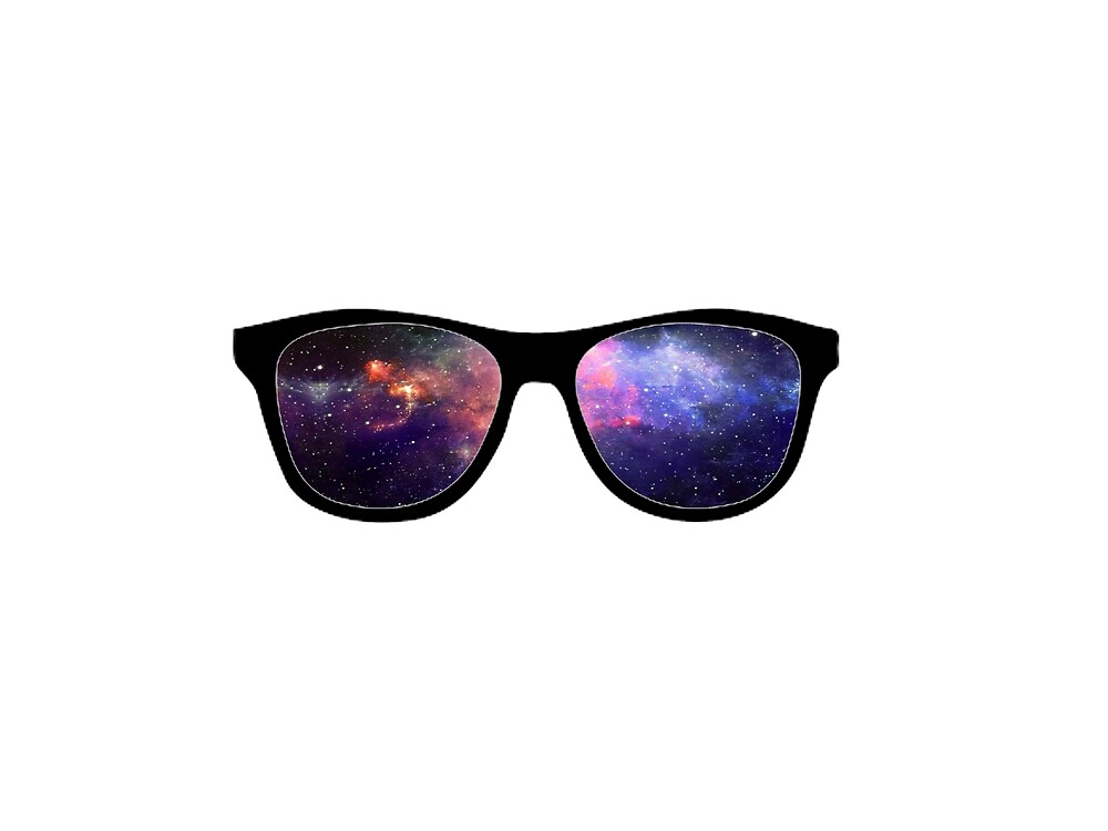Galaxy Glasses by jodyceline