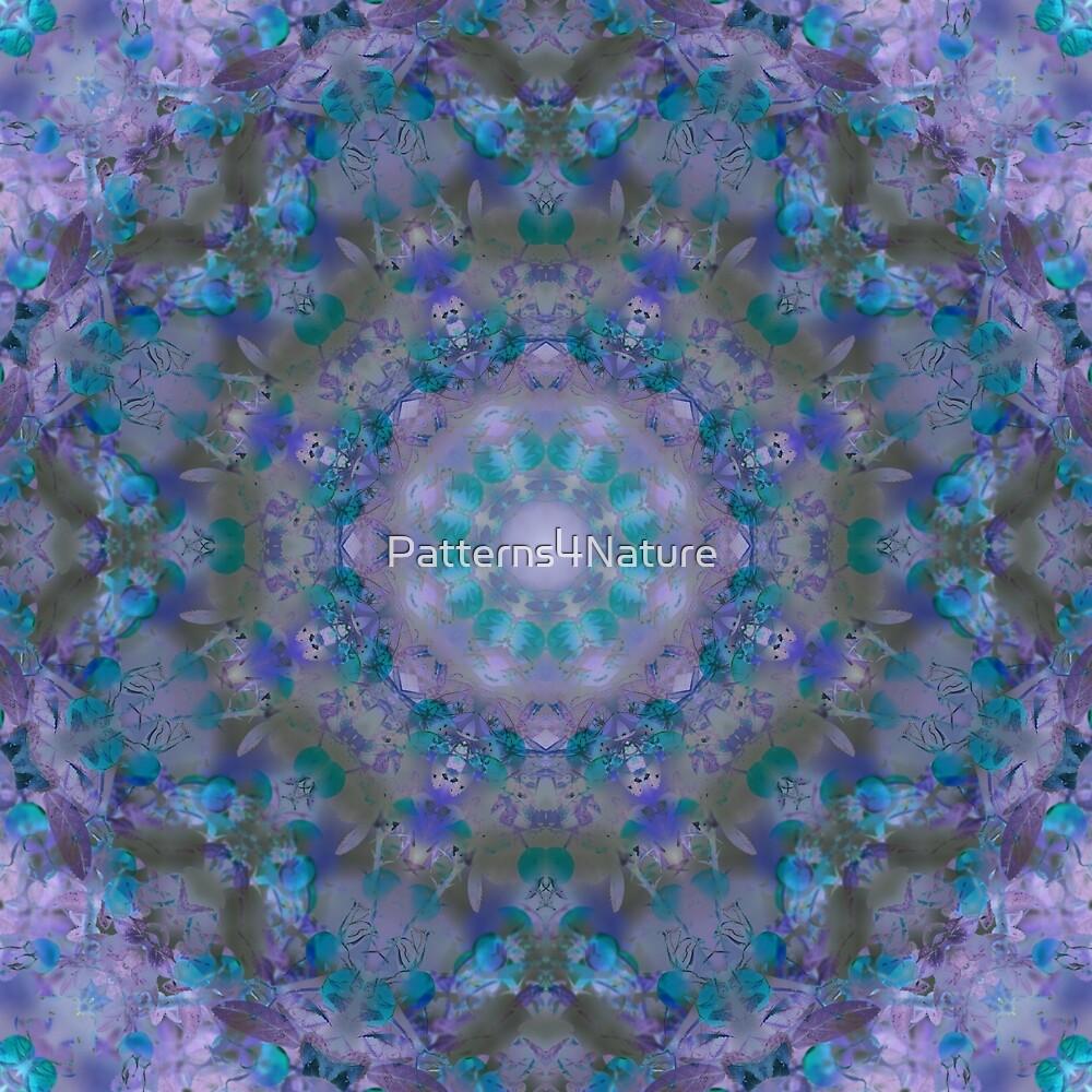Springtime Floral Mandala by Patterns4Nature