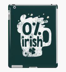 0% Irish iPad Case/Skin