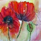 Transitions- Poppies by bevmorgan