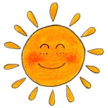 Sunny Sun Sunshine Happy Cute  by vanessachammas