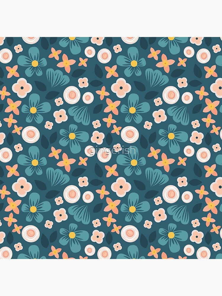 Modern Floral by gingerish