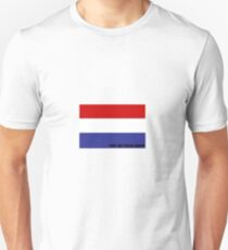 Dutch Flag with Name Unisex T-Shirt