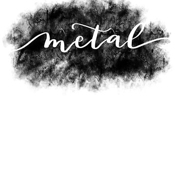 Heavy metal grunge lettering  by lthacker