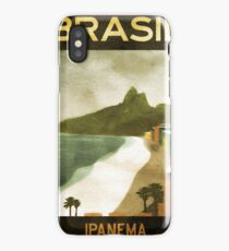 Vintage Travel Poster, Brazil iPhone Case