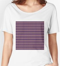 Design, tracery, weave, drawing, figure, picture, illustration, carpet Women's Relaxed Fit T-Shirt