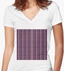 consonant, concordant, rich, wealthy, affluent, abundant, full, opulent Women's Fitted V-Neck T-Shirt