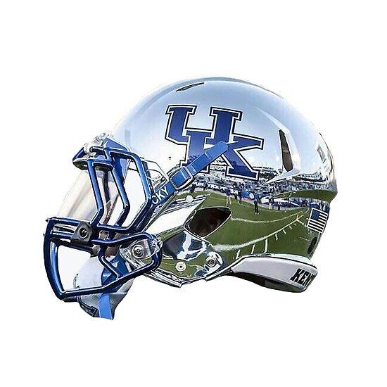 """Kentucky Chrome Football Helmet"" Posters by ..."
