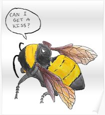 Hand-Drawn SFFB Bee Poster