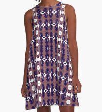 Colorific, ornate,  gorgeous, vintage, prestigious, harmonious, harmonic, balanced A-Line Dress