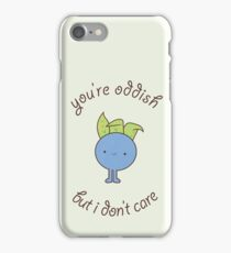 U are oddish iPhone Case/Skin