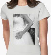 Bride and groom hugging together T-Shirt