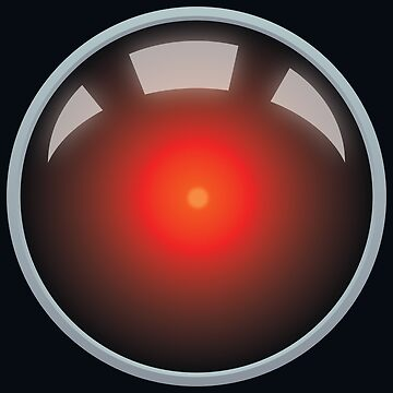 HAL 9000 by Phlum