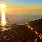 Table Mountain Sunset by Leon Heyns