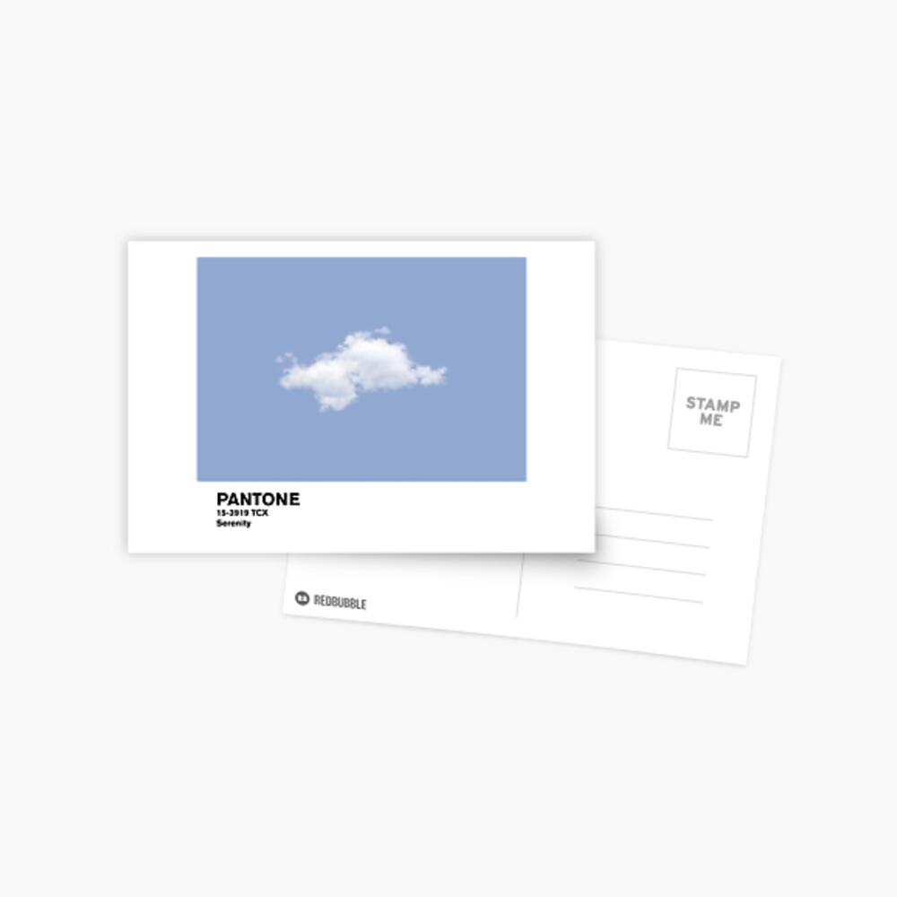 Serenity Blue Pantone Cloud Postal