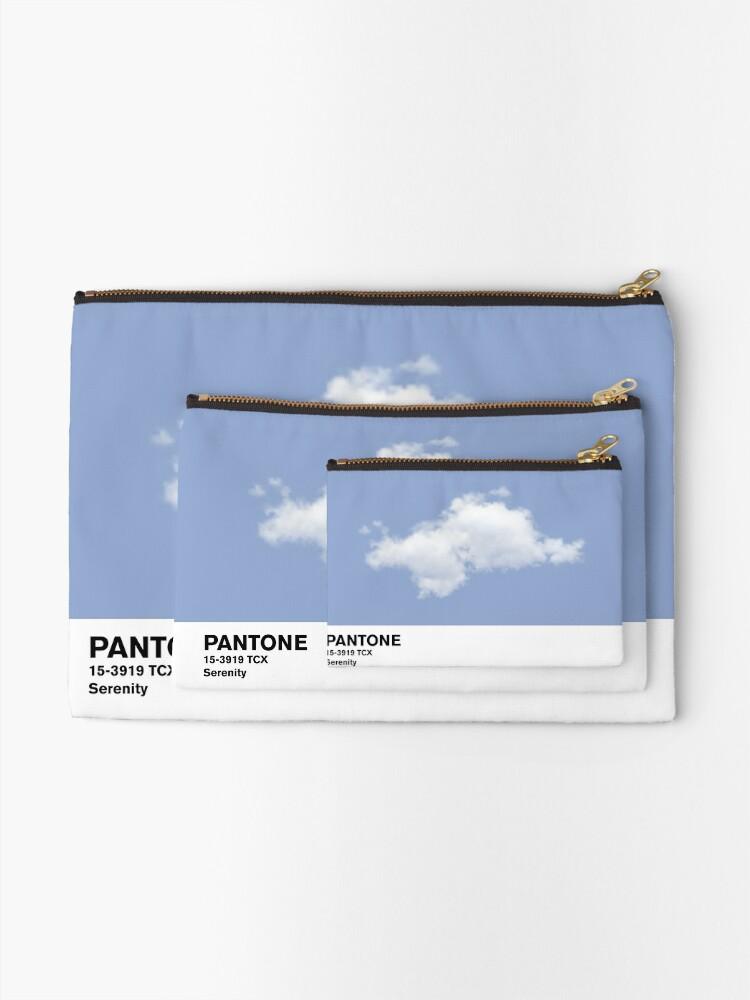 Vista alternativa de Bolsos de mano Serenity Blue Pantone Cloud