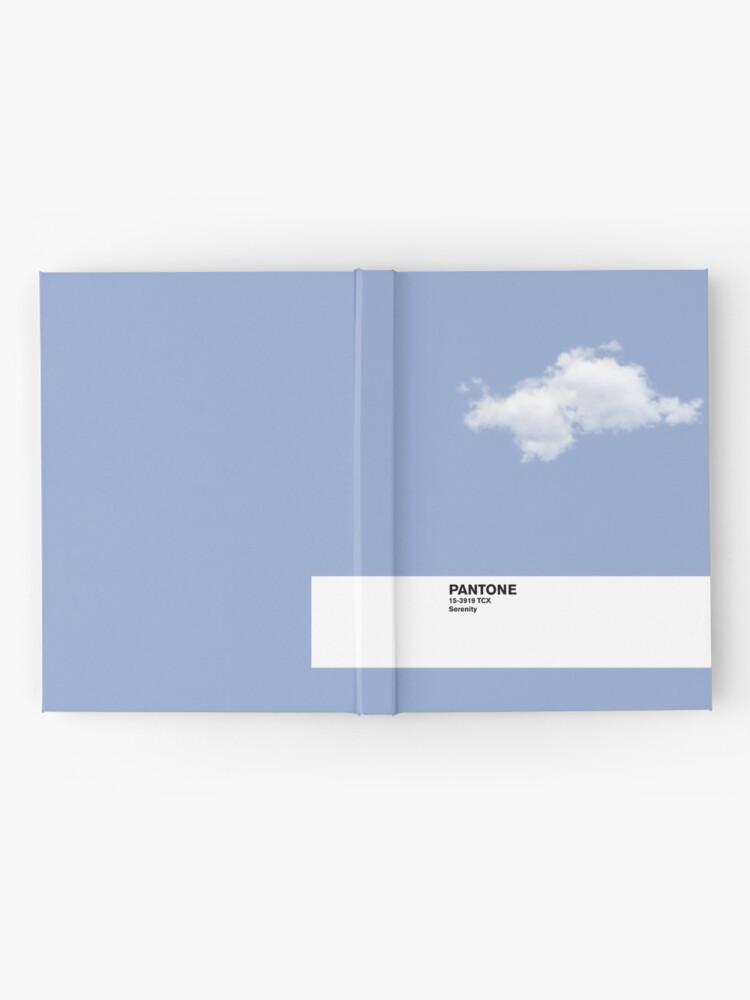 Vista alternativa de Cuaderno de tapa dura Serenity Blue Pantone Cloud