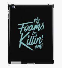 My Foams Be Killin Island Green Sneaker T-Shirt Foamposites iPad Case/Skin