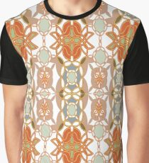Orange, Weave, drawing, figure, picture, illustration, carpet, rug, tapis Graphic T-Shirt