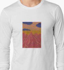 Red Mountain Sunrise Long Sleeve T-Shirt