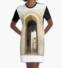 Through the Arches Graphic T-Shirt Dress