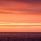 Abstract Sunset and Sea by Pixie Copley LRPS