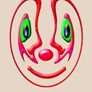 Clown Mask by Orla Cahill