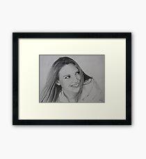 Anna Torv Framed Print
