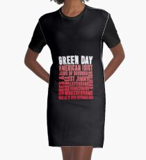American Idiot Green Day Graphic T-Shirt Dress