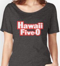 Classic Hawaii Five-O Shirt Women's Relaxed Fit T-Shirt