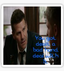 Seeley Booth Quote 5 Sticker