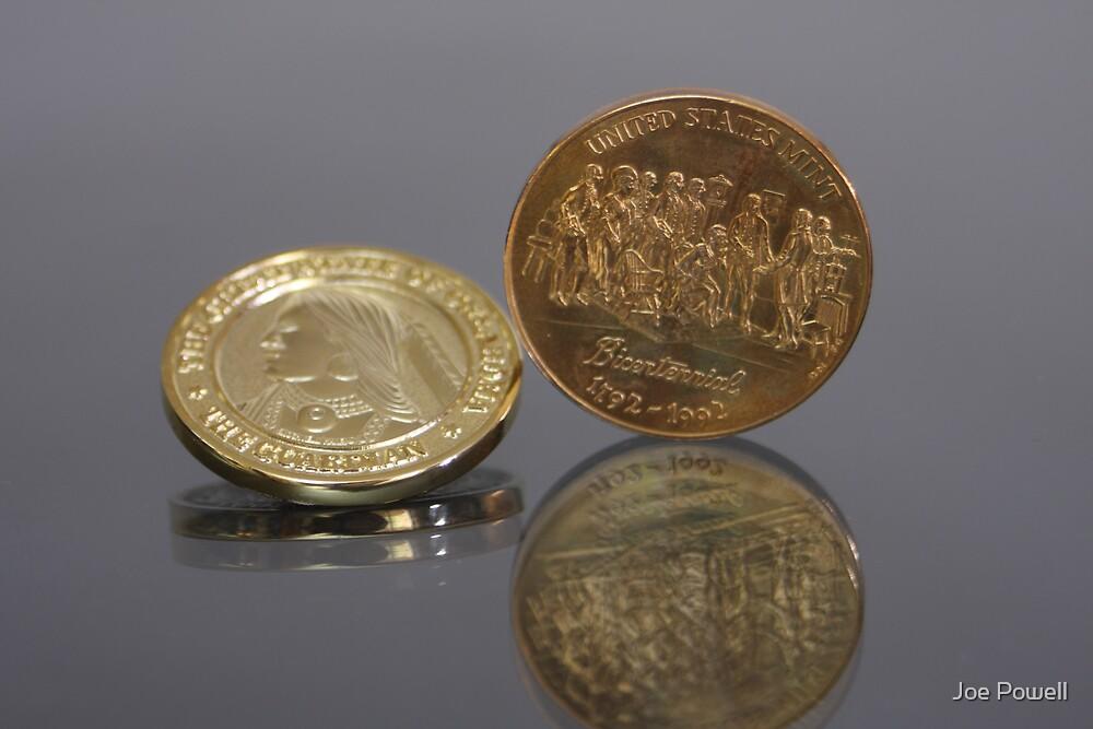 Centennennial / Bicentennial Coins by Joe Powell