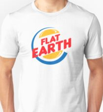 Flat Earth King Unisex T-Shirt