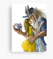 urban laberinto belle and the beast mashup Canvas Print