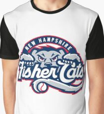 New Hampshire Fisher Cats Graphic T-Shirt